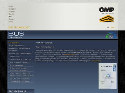 Website GMP Partners - BUS