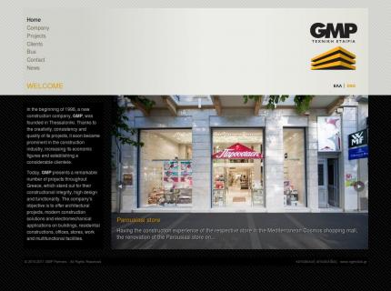 Website GMP Partners - Home