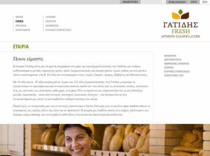 Website Gatidis - Company