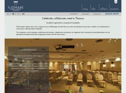 Hotel Iliomare - Events