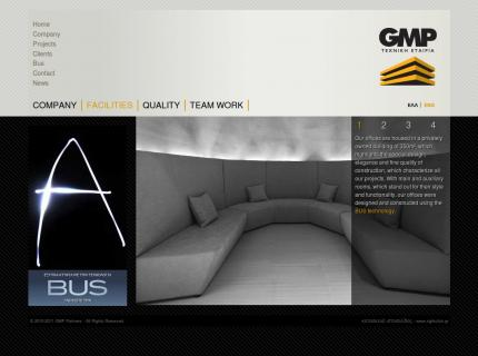 Website GMP Partners - Company