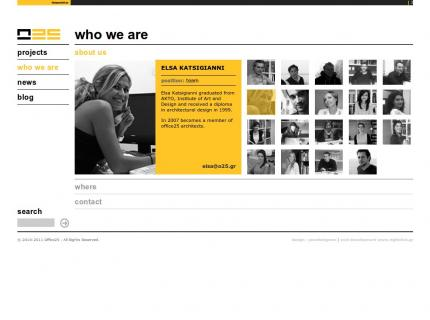 Website Office 25 Architects v2 - Company