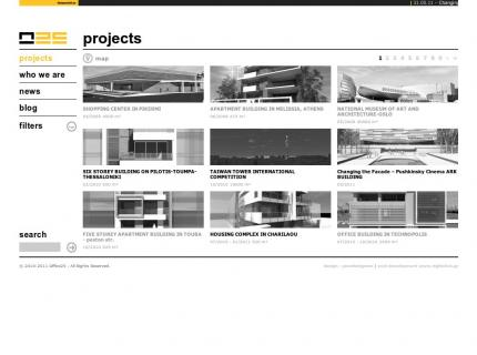 Website Office 25 Architects v2 - Projects